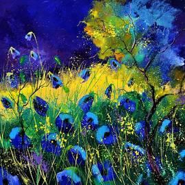 Pol Ledent - Blue poppies 7741