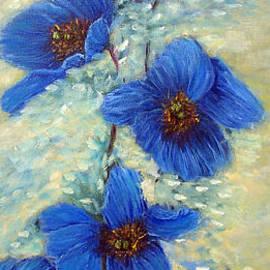 Loretta Luglio - Blue Poppies