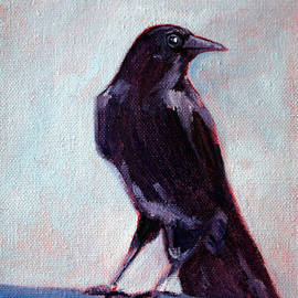 Nancy Merkle - Blue Raven
