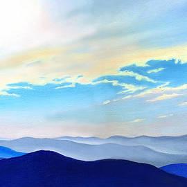 Catherine Twomey - Blue Ridge Blue Above
