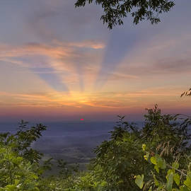 Debra and Dave Vanderlaan - Blue Ridge Mountain Sunset