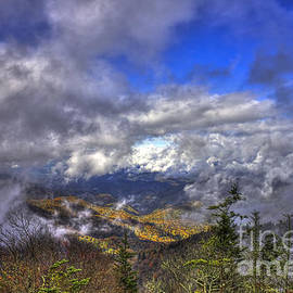 Reid Callaway - Up Among The Clouds Blue Ridge Parkway Waterrock Knob