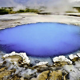 Bob and Nadine Johnston - Blue Saphire Pool at Yellowstone National Park