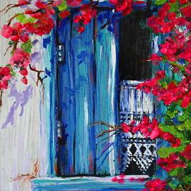 Yvonne Ayoub - Blue Shutters 02