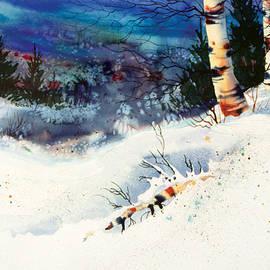 Teresa Ascone - Blue Sky Birch