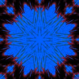 Bruce Nutting - Blue Snowflake
