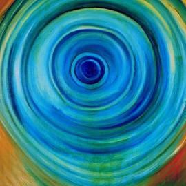 Dimitra Papageorgiou - Blue Swirl
