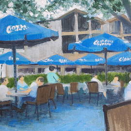 Robert Rohrich - Blue Terrace Cafe