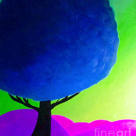 ANITA LEWIS - BLUE TREE