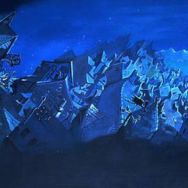 Joseph Hawkins - Blue village