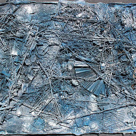 Hari Thomas - Blue Web Collage