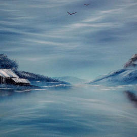 Cynthia Adams - Blue Winter Reflections
