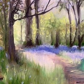 Melissa Herrin - Bluebells at dusk