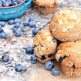 Stephanie Frey - Blueberry Muffins and Berries