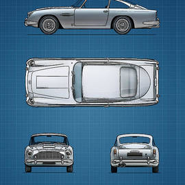 Mark Rogan - Blueprint Aston Martin DB5