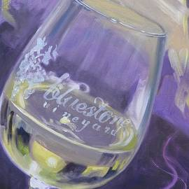 Bluestone Vineyard Wineglass
