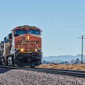 Jim Thompson - Bnsf 7324