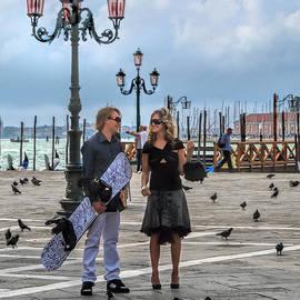 Jennie Breeze - Board in Venice.Italy