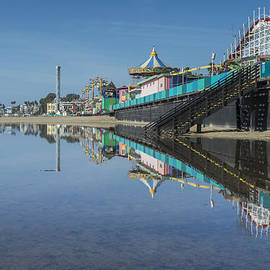 Bruce Frye - Boardwalk Reflected