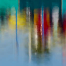 Bruce Frye - Boardwalk Reflection Abstraction Two