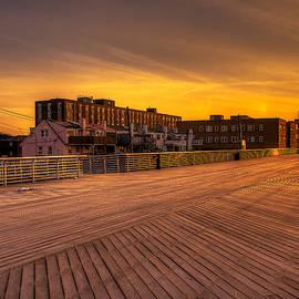 Mike  Deutsch - Boardwalk Sunrise