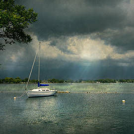 Mike Savad - Boat - Canandaigua NY - Tranquility before the storm