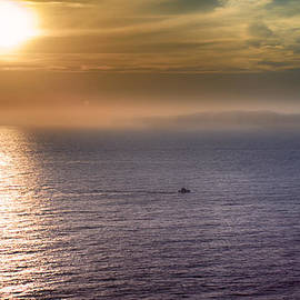 Joseph Hollingsworth - Boat Crossing Sun Beam