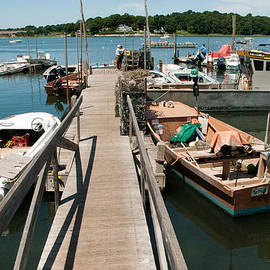 Robert Ford - Boat Dock and Marina Stoney Creek Harbor near North Haven Connecticut