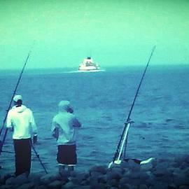 Candy Floss Happy - boat / fishermen