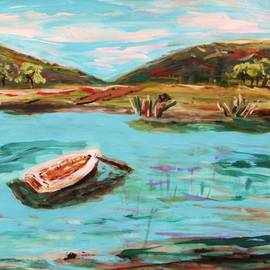 Mary Carol Williams - Boat Grasses and Red Wing