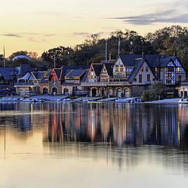 Dan Myers - Boat House Row In Philadelphia