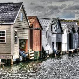 Michael Allen - Boat Houses