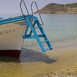 Brenda Kean - Boat trip to beach