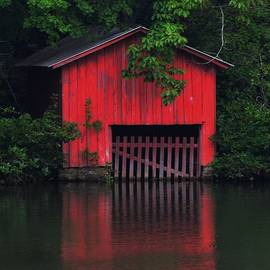 Maria Urso  - Boathouse in the Woods