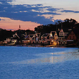 Jennifer Lyon - Boathouse Row dusk