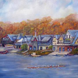 Loretta Luglio - Boathouse Row In Philadelphia