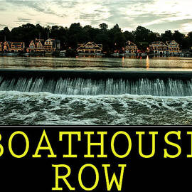 Bill Cannon - Boathouse Row Poster