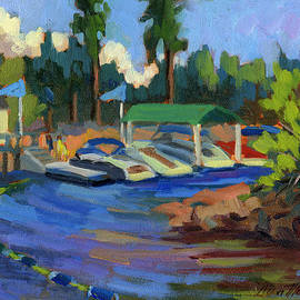 Diane McClary - Boating at Lake Arrowhead