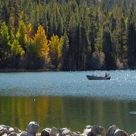 Lynn Bauer - Boating on Gull Lake