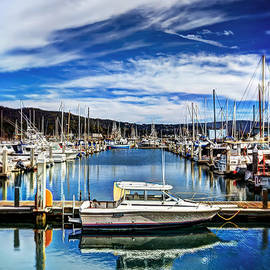 Jennifer Rondinelli Reilly - Boats at Pillar Point Harbor in Half Moon Bay