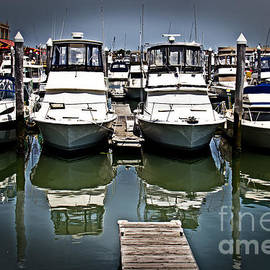 Tom Gari Gallery-Three-Photography - Boats At The Ready
