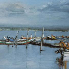 Ari Constancio - Boats at Torreira