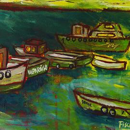 Rafael Fischer - Boats in Valparaiso
