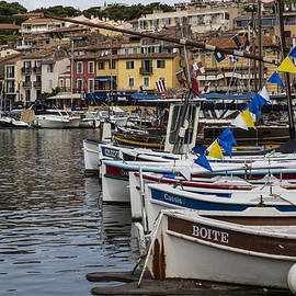 Nomad Art And  Design - South of France Harbor