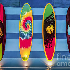 Gary Keesler - Bob Marley Surfing Display