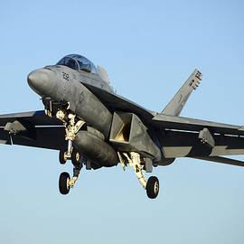 Brian Lockett - Boeing FA-18F Super Hornet BuNo 166659 Landing 1 NAF el Centro October 24 2012