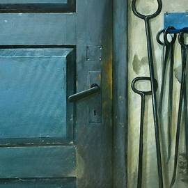 Sandra Szyra - Boiler house door