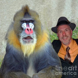 Jim Fitzpatrick - Bonding With My New Mandrill Buddy