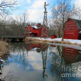 Tina M Wenger - Bonneville wind mill
