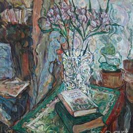 Anna Yurasovsky - Books and Flowers